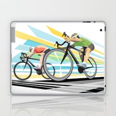 Illustration Graphic Design: Finish Line Laptop & iPad Skin