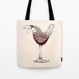 Merlotmaid Tote Bag