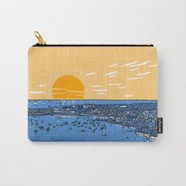 Cascais Bay-Portugal-Beach-Sunset-Landscape Carry-All Pouch