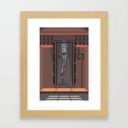 EP6 : Han Solo in Carbonite Framed Art Print