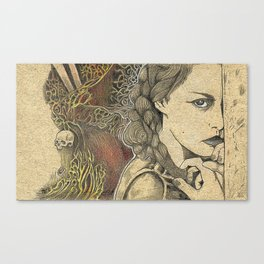 The Arsonist's Vision Canvas Print