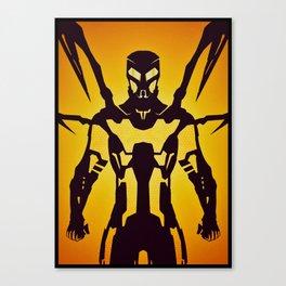 Yellowjacket Canvas Print