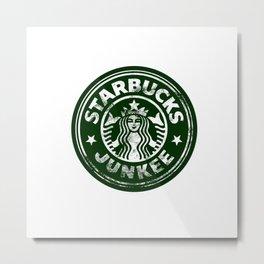 Starbucks Junkee Metal Print