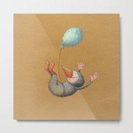 Birdman Dive! Metal Print