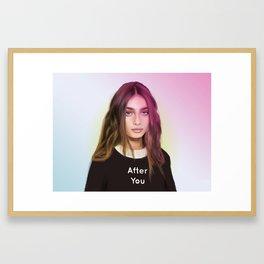 You First Framed Art Print