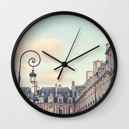 PLACE DES VOSGES (Paris, France) Wall Clock