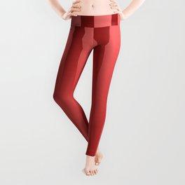 Red gradient Leggings