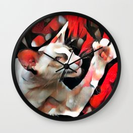 I Volunteer to Babysit the Canary and Goldfish Wall Clock