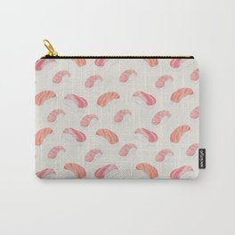 Watecolor Nigiri Sushi Pattern Carry-All Pouch
