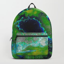 Cosmic Lime Backpack