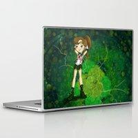 sailor jupiter Laptop & iPad Skins featuring Sailor Jupiter by Thedustyphoenix