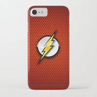 the flash iPhone & iPod Cases featuring FLASH by neutrone