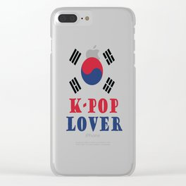 K-pop Lover Clear iPhone Case
