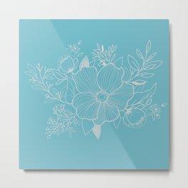 Anemone teardrops Metal Print