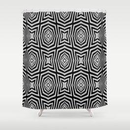 Zebra Fur Pattern Shower Curtain