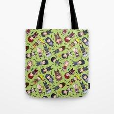 Naruto Pattern Jutsu Tote Bag