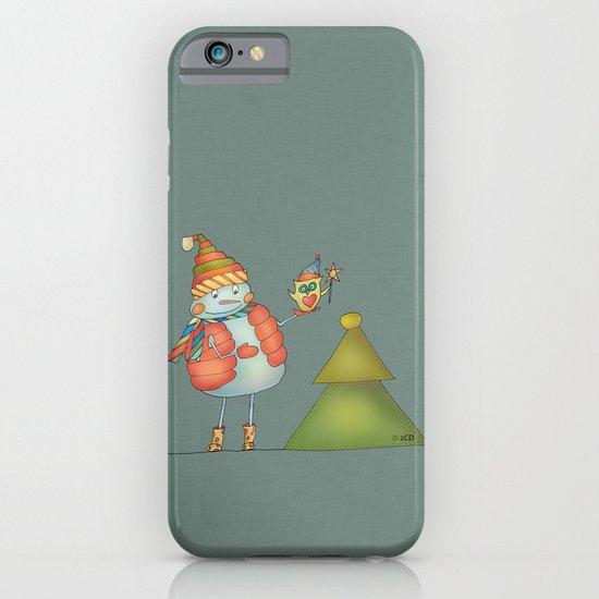 Friends keep warm - greyish iPhone & iPod Case