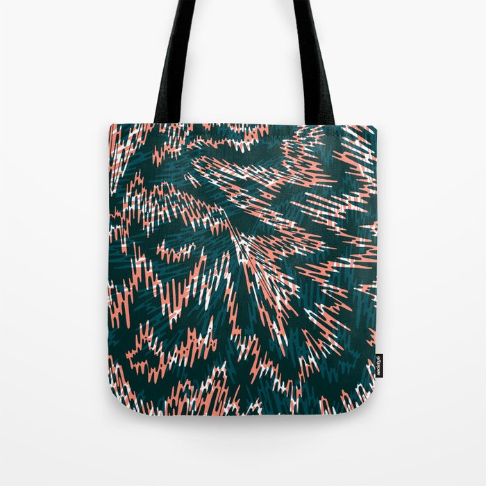 "TIGUE ""PEAKS"" inside Tote Bag"