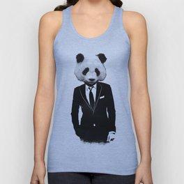 Panda Suit Unisex Tank Top