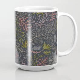 Coral Reef Pattern Coffee Mug