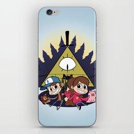 Gravity Falls iPhone Skin