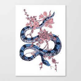 Jungle Snake Canvas Print