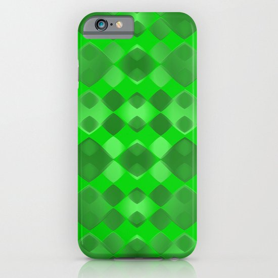 Pattern green 5 iPhone & iPod Case