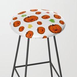 The happy pumpkin Bar Stool