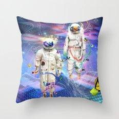 Final Frontier Throw Pillow
