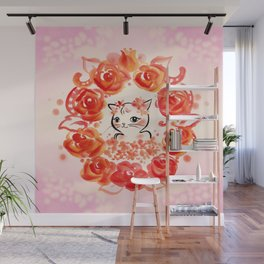 Rose Princess Wall Mural