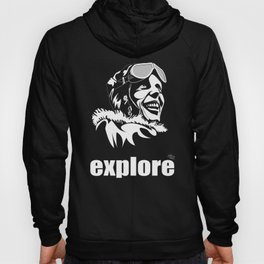 fourth word - explore Hoody