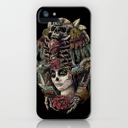 Day of the Dead (Ancient Guardians) iPhone Case