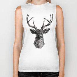 Deer Antlers Biker Tank