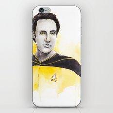 Lieutenant Commander Data iPhone & iPod Skin