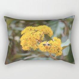 peruvian yellow flower Rectangular Pillow