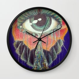 Eyeyeye Wall Clock