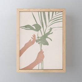 Leafs Framed Mini Art Print