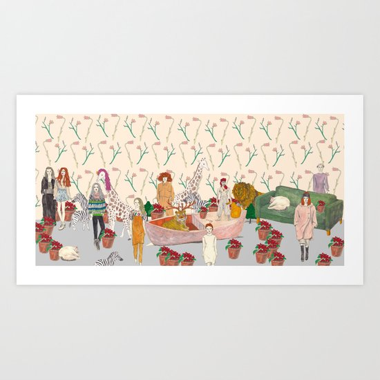 XmasParty! Art Print