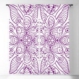 Mindful Mandala Pattern Tile MAPATI 116 Blackout Curtain