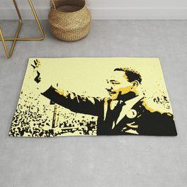 Martin Luther - The Great - Society6 BLM Online Art Shops - Dr King - Jr. Michael Rug