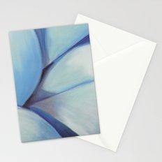 Blue Ribbon - Pastel Illustration Stationery Cards