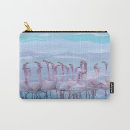 Flamingos #7, fun design Carry-All Pouch