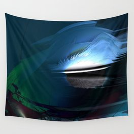 Break through Wall Tapestry