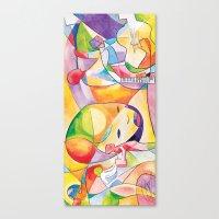 divergent Canvas Prints featuring Divergent Threads, Lucent Memories by Serapenta Studio – HBGC