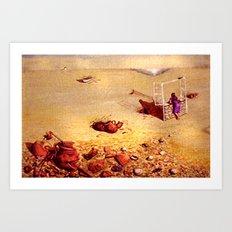 Garden of Memories Art Print