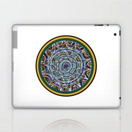 Free Hand Mandala in Circles Laptop & iPad Skin