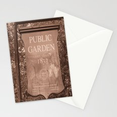 Public Garden Stationery Cards