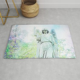 Angels Watch Over Us Rug