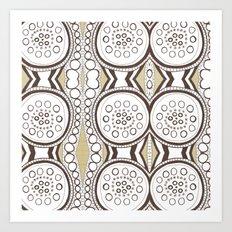 Spin & Spin Art Print