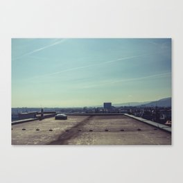 on the top. Canvas Print
